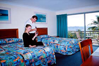 Standard twin Motel Room at Airlie Beach