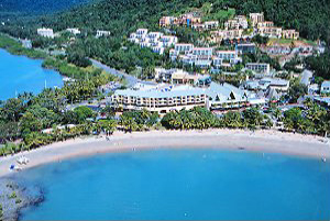 Arial view of Airlie Beach