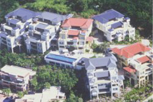 Luxury accommodation overlooking Airlie Beach